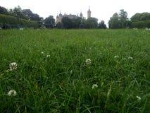 Vista scenica al castello di Schwerin Immagine Stock Libera da Diritti