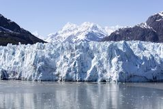 Vista scenica del ghiacciaio Immagini Stock Libere da Diritti