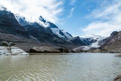 Vista scenica del ghiacciaio di Grossglockner Fotografie Stock Libere da Diritti