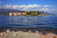 Vista scenica del Isola Bella, Lago Maggiore, Italia, Europa Fotografie Stock