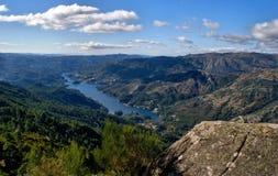 Vista scenica del parco nazionale di Peneda Geres fotografie stock
