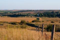 Vista scenica del River Valley Immagini Stock Libere da Diritti
