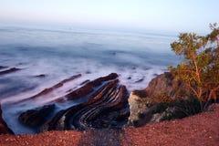 Vista scenica dell'oceano Fotografia Stock