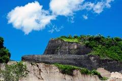 Cava di pietra sull'isola di Bali Fotografie Stock Libere da Diritti