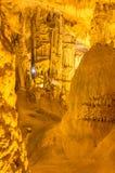 Vista scenica della caverna del ` s di Nettuno sardinia L'Italia immagine stock libera da diritti