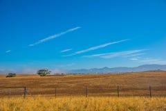 Vista scenica della strada principale pacifica 1 della linea costiera di California Fotografie Stock Libere da Diritti