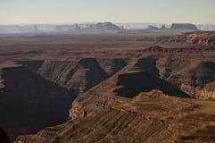 Vista scenica della valle del monumento Fotografie Stock