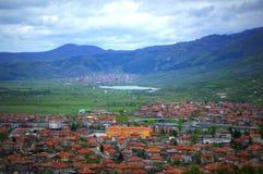 Vista scenica delle montagne bulgare Immagini Stock Libere da Diritti
