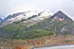 Vista scenica delle montagne svizzere Immagini Stock