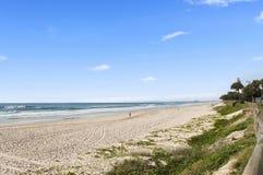 Vista scenica di bella spiaggia sulla Gold Coast Fotografia Stock Libera da Diritti