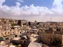 Vista scenica di Gerusalemme Fotografie Stock