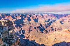 Vista scenica di Grand Canyon, Arizona Immagini Stock Libere da Diritti
