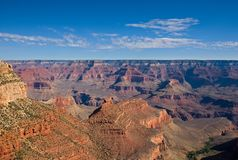 Vista scenica di grande canyon Fotografia Stock Libera da Diritti