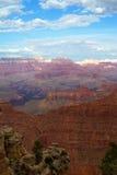 Vista scenica di grande canyon Immagine Stock