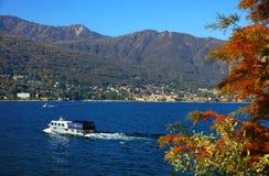 Vista scenica di Isola Madre sul Lago Maggiore, Italia del Nord, Europa Immagine Stock