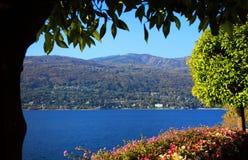 Vista scenica di Isola Madre sul Lago Maggiore, Italia del Nord, Europa Fotografia Stock Libera da Diritti