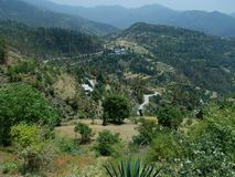 Vista scenica di Naldehra Fotografie Stock Libere da Diritti
