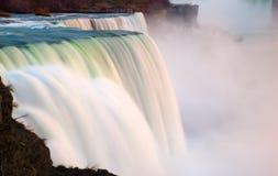 Vista scenica di Niagara Falls Fotografia Stock