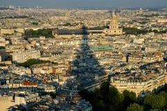 Vista scenica di Parigi fotografia stock libera da diritti