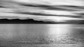 Vista scenica di piccola isola fotografia stock libera da diritti