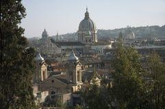 Vista scenica di Roma fotografia stock libera da diritti