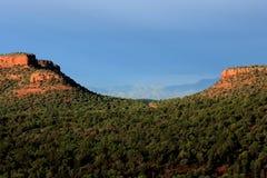 Vista scenica di Sedona Arizona Immagini Stock Libere da Diritti