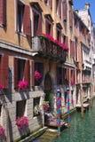 Vista scenica di vecchia costruzione veneziana, Venezia, Italia Immagine Stock Libera da Diritti