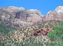 Vista scenica di Zion Immagini Stock