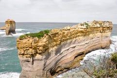 Vista scenica lungo la grande strada dell'oceano Fotografia Stock Libera da Diritti