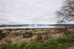 Vista scenica nella Patagonia Immagine Stock