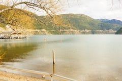 Vista scenica nella Patagonia Fotografia Stock