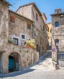 Vista scenica in Ronciglione, provincia di Viterbo, Lazio, Italia centrale Immagini Stock Libere da Diritti