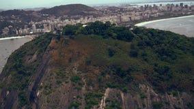 Vista scenica su Sugar Loaf Mountain Fotografia Stock
