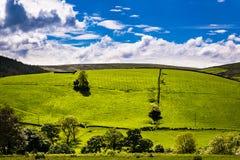 Vista scenica sulla campagna inglese Immagine Stock