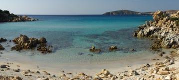 Vista selvagem - praia de Perdalonga - Sardinia Foto de Stock Royalty Free