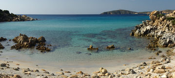Vista selvaggia - spiaggia di Perdalonga - la Sardegna Fotografia Stock Libera da Diritti