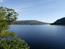 Vista sereno de Ullswater, distrito do lago Fotos de Stock