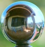 Vista sferica sul mondo Immagini Stock