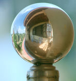 Vista sferica sulla casa Fotografie Stock