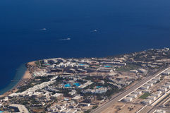 Vista a Sharm El-Sheikh Imagen de archivo