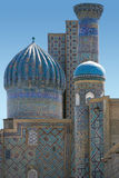 Vista Sher-Dor em Samarkand Imagens de Stock