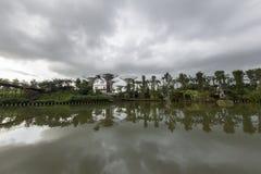 Vista Singapore del parco Fotografie Stock Libere da Diritti