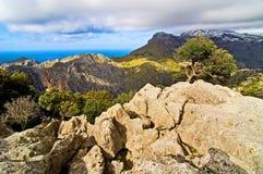 Vista sobre as montanhas Foto de Stock Royalty Free