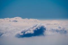 Vista sobre as nuvens Fotografia de Stock