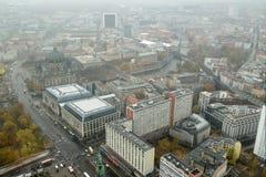 Vista sobre Berlim do centro, Alemanha foto de stock