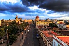 Vista sobre Cienfuegos imagens de stock royalty free