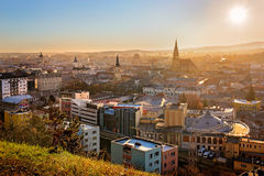 Vista sobre Cluj Napoca Fotografia de Stock Royalty Free