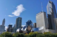 Vista sobre construções de Chicago, Chicago, Illinois, EUA Fotografia de Stock
