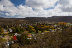 Vista sobre Cooma Imagens de Stock Royalty Free