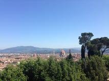 Vista sobre Florença imagem de stock royalty free